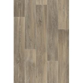 PVC/Vinyle Trento Lames parquet gris foncé