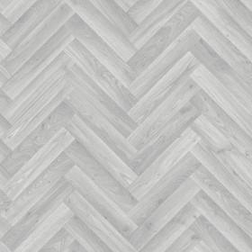 PVC/Vinyle Plaza Chevron gris clair