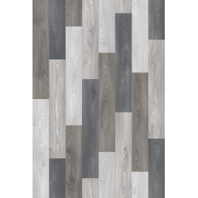 PVC/Vinyle Designer Plus Lames parquet 3 couleurs gris