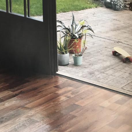 PVC/Vinyle Start Larges lames parquet doré